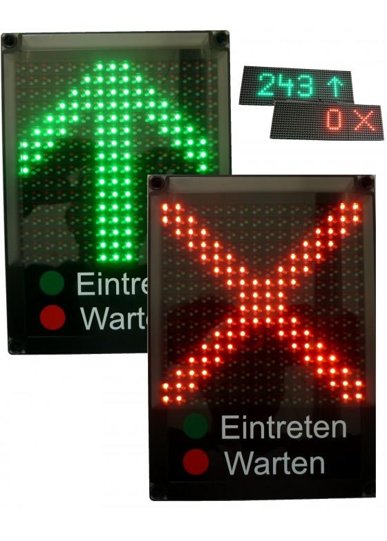 Zugangskontrollsystem / Corona-Ampel