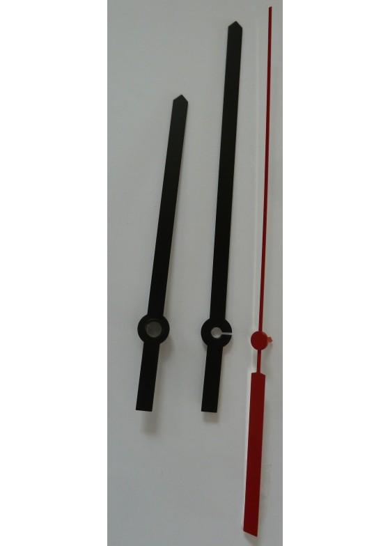 Zeigerpaar für K-FWUTS-Werke, Zifferblatt 30cm