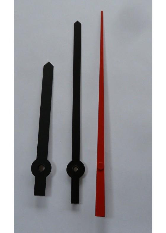 Zeigerpaar für das Laufwerk K-W6 und Zifferblatt 30cm