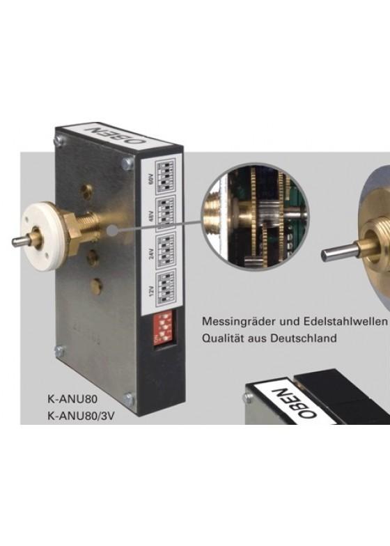 K-ANU80 Uhrwerk für bis zu 80cm Zifferblattdurchmesser