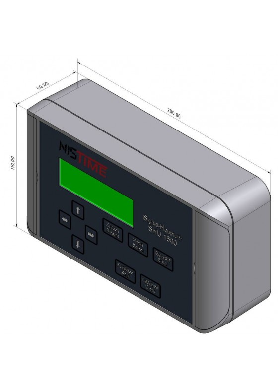 K-SHU1500 Hauptuhr für den Betrieb von Uhrenanlagen