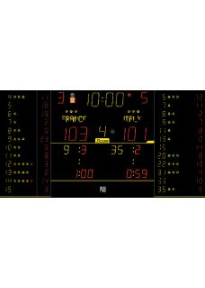 Sportergebnisanzeige für Innen 8NT325-FS10
