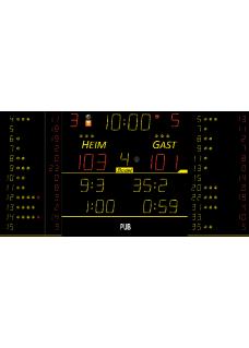Sportergebnisanzeige für Innen 8T225-FS10
