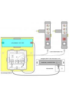 BQA-03, Funksteuerung für 2 BQW-Werke Batteriebetrieb
