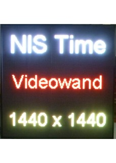 LED Videowand Pixelabstand 6mm