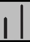 Balken-Zeigerpaar für BQW und ANU80